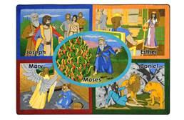 Joy Carpets Bible Stories Kids Rug