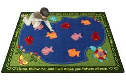 Joy Carpets Fishers Of Men Kids Rug