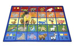 Joy Carpets Animal Phonics Kids Rug