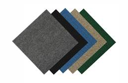 Wide Ribbed Carpet Tile