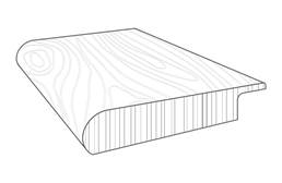"Imperial 3/4"" x 2"" x 94"" Stair Nose"