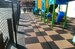 PlayTime Interlocking Playground Tiles