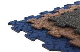 Designer Berber Rubber Carpet Tiles