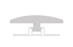 "COREtec Design 1/2"" x 1-1/4"" x 94"" T-Molding"