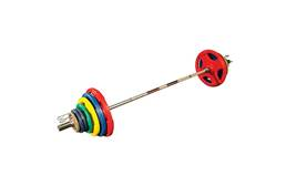Body-Solid Colored Rubber Grip Olympic Sets