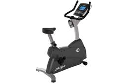 LifeFitness C1 Upright Lifecycle w/ Console