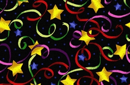 Joy Carpets Streamers & Stars Carpet