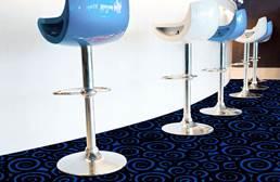 Joy Carpets Neon Lights Nebula Tile
