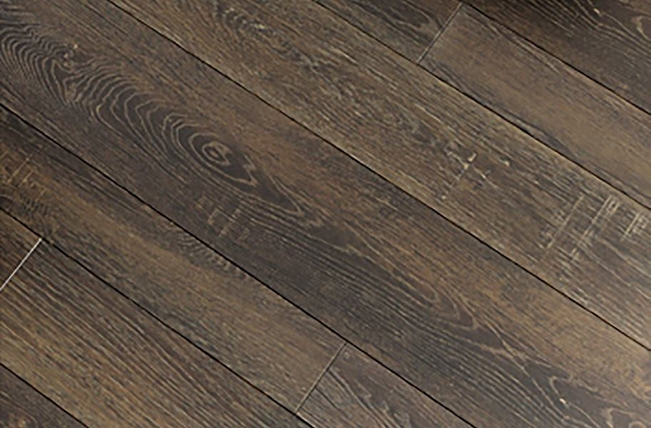 Lux Haus II Rigid Core Vinyl Planks - Brownstone