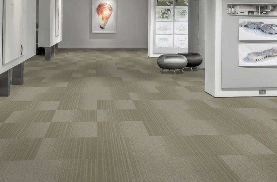 EF Contract Fluid Carpet Tile