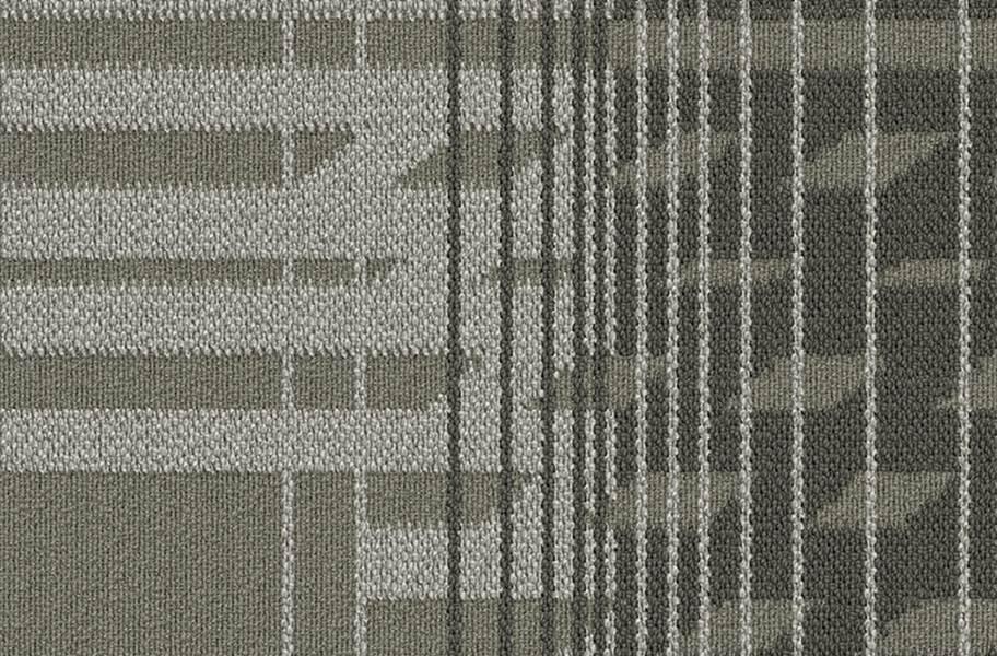 Fractured Carpet Tile - Alloy