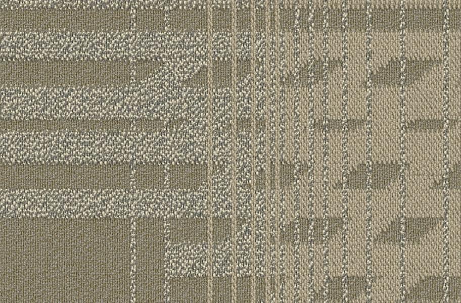 Fractured Carpet Tile - Whitewash