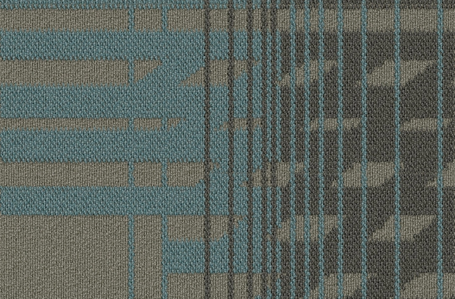 EF Contract Fractured Carpet Tile - Develop