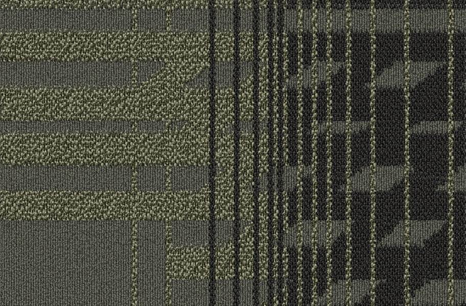 EF Contract Fractured Carpet Tile - Emulsion
