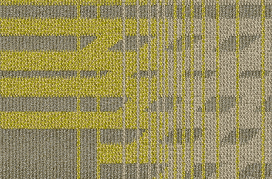 EF Contract Fractured Carpet Tile - Exposure