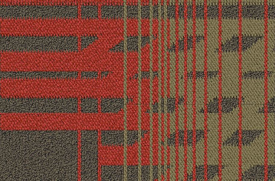 EF Contract Fractured Carpet Tile - Ignite