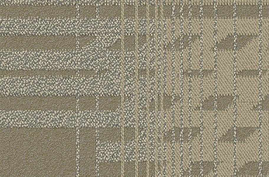 EF Contract Fractured Carpet Tile - Whitewash