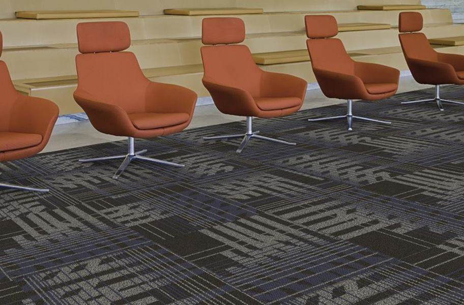 EF Contract Fractured Carpet Tile