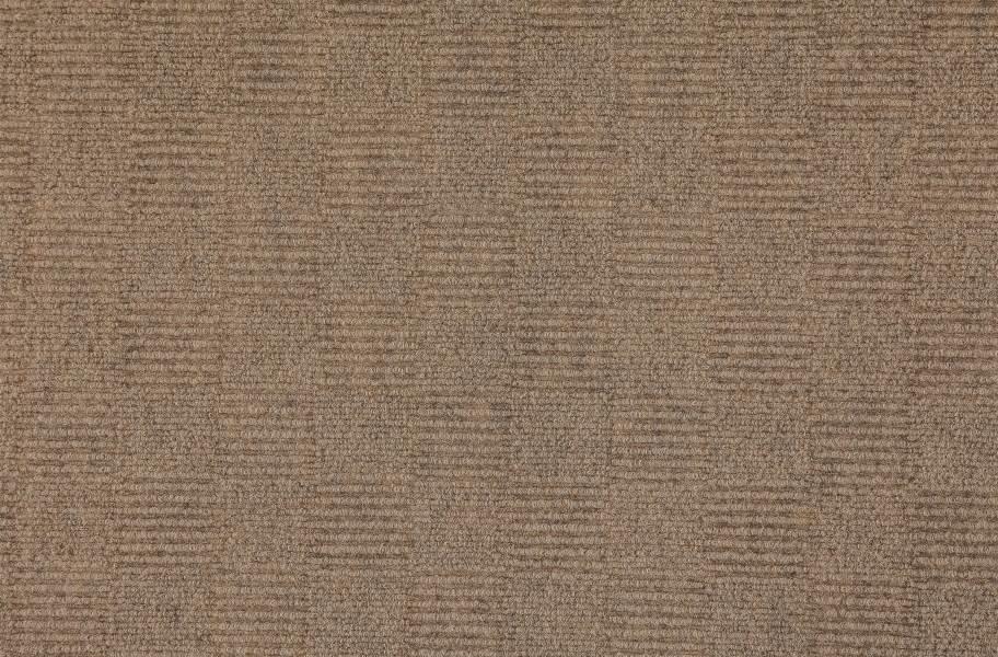 Weave Carpet Tiles - Chestnut