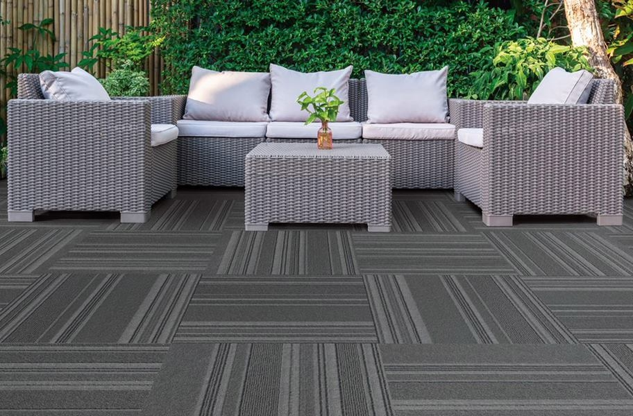 On Trend Carpet Tiles - Shadow
