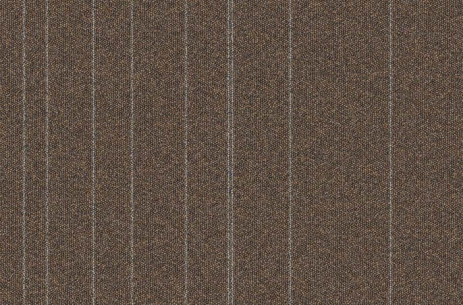 Rule Breaker Carpet Tile - Hickory Stripe