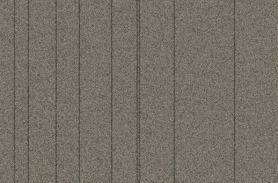 Rule Breaker Carpet Tile - Nickel Stripe