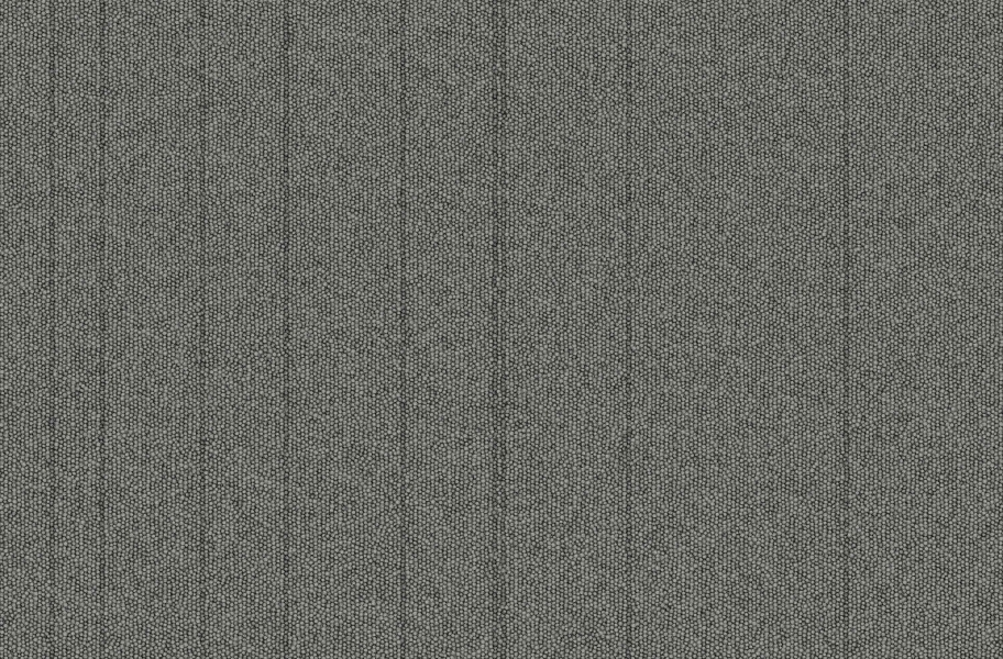 Rule Breaker Carpet Tile - Pewter Stripe
