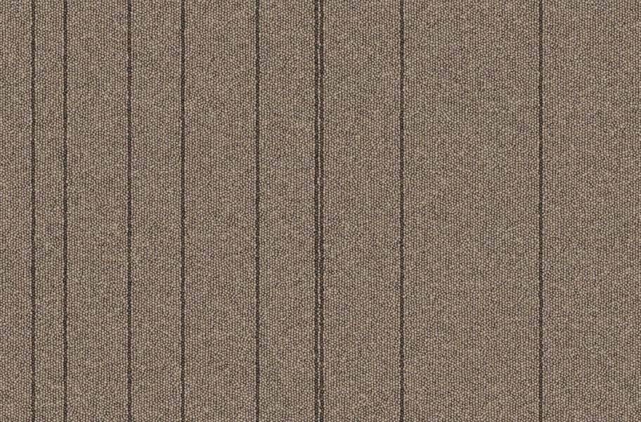 Rule Breaker Carpet Tile - Praline Stripe