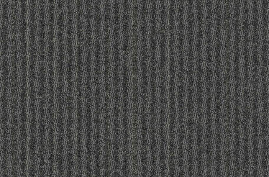 Rule Breaker Carpet Tile - Charcoal Stripe