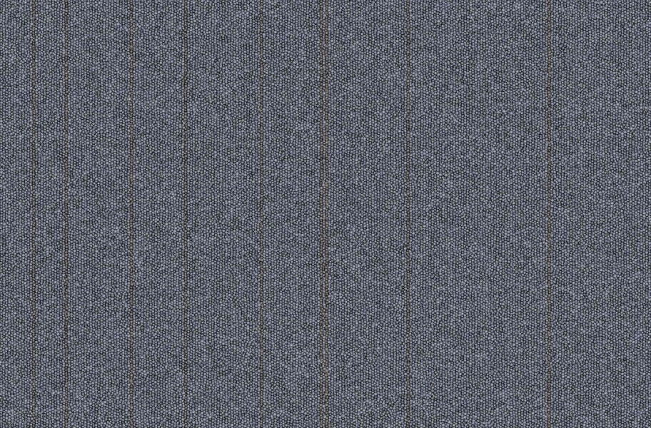 Rule Breaker Carpet Tile - Cobalt Stripe