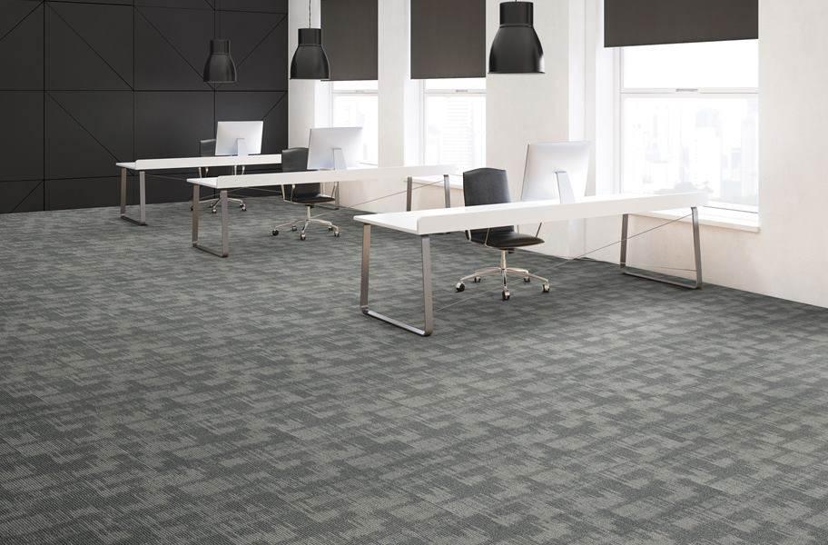 Pattern Perspective Carpet Tile