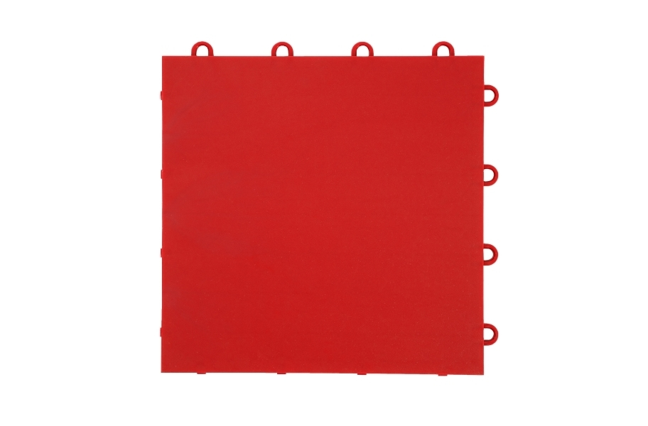 Flat Top Dance Tiles - Victory Red