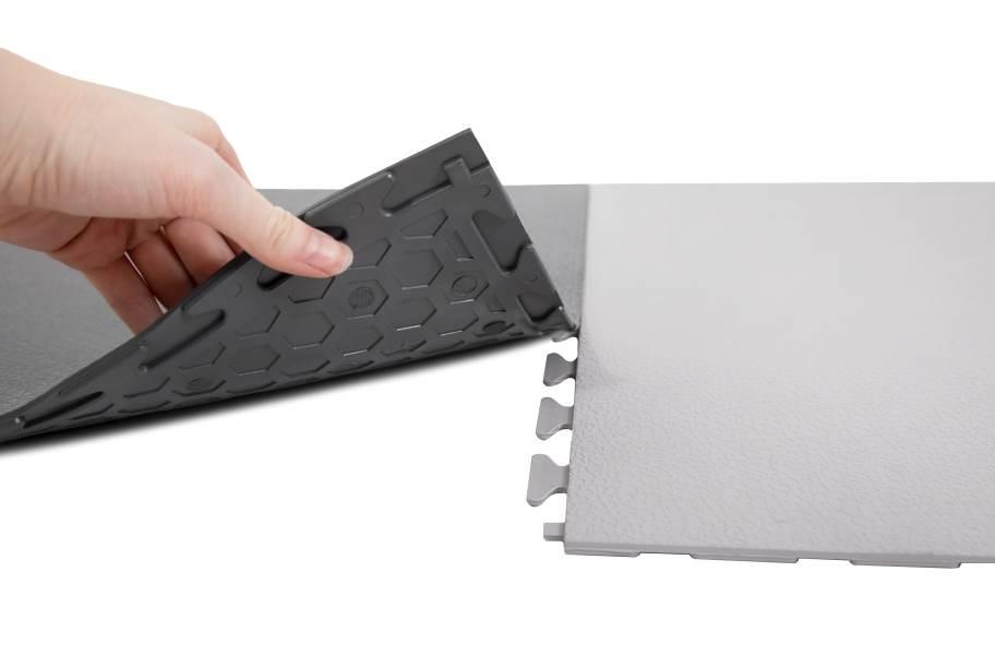 Smooth Flex Nitro Tiles - Black