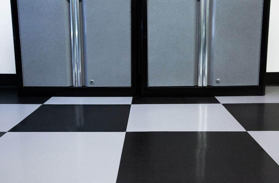 Smooth Flex Nitro Tiles - Dark Gray