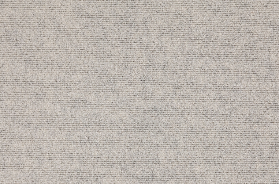 Premium Ribbed Carpet Tiles - Oatmeal