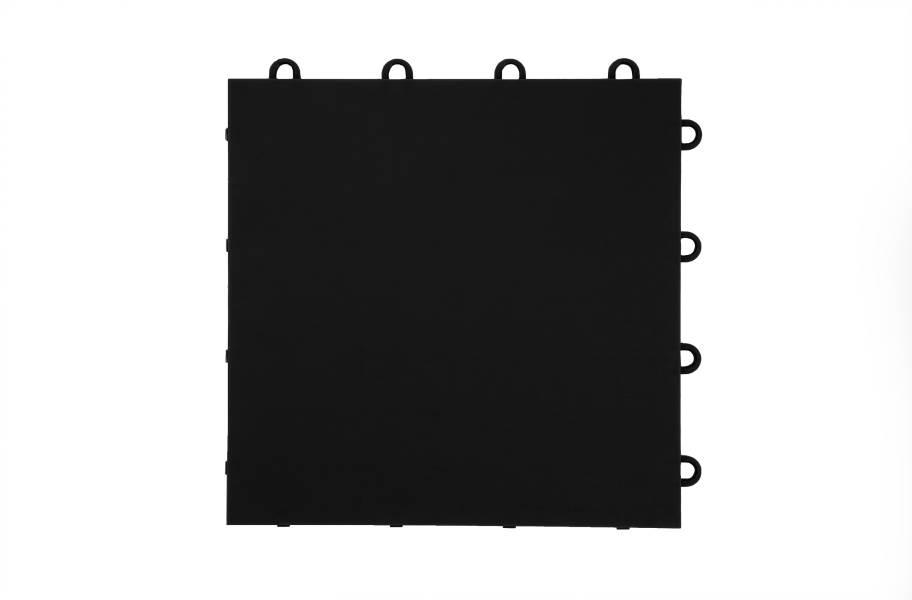 Flat Top Dance Tiles - Black