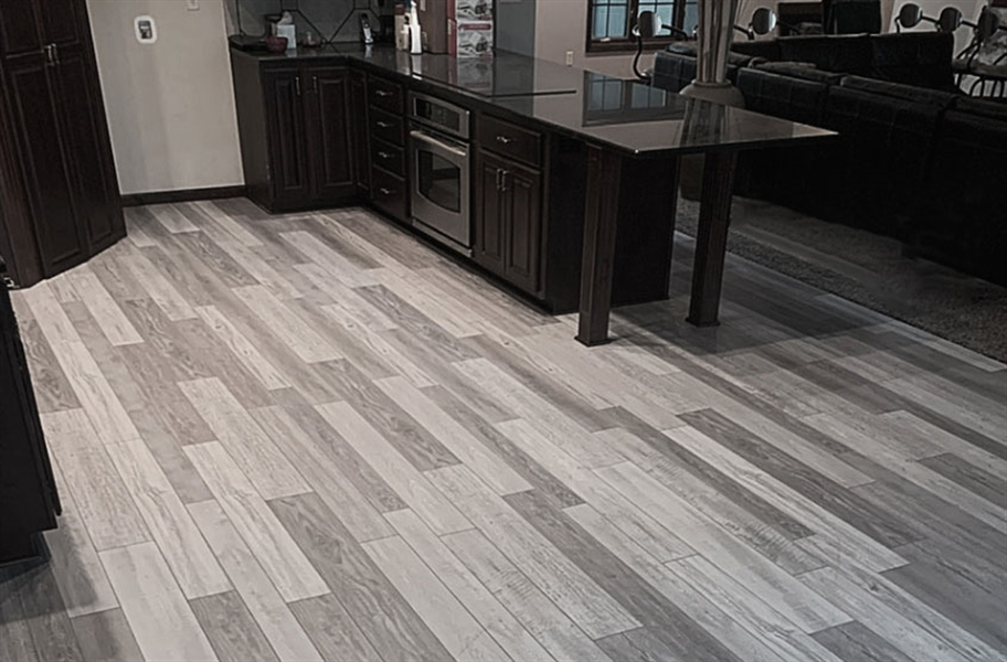 13mm Tuffcore Estate WaterResist Laminate - Gray Stone Oak