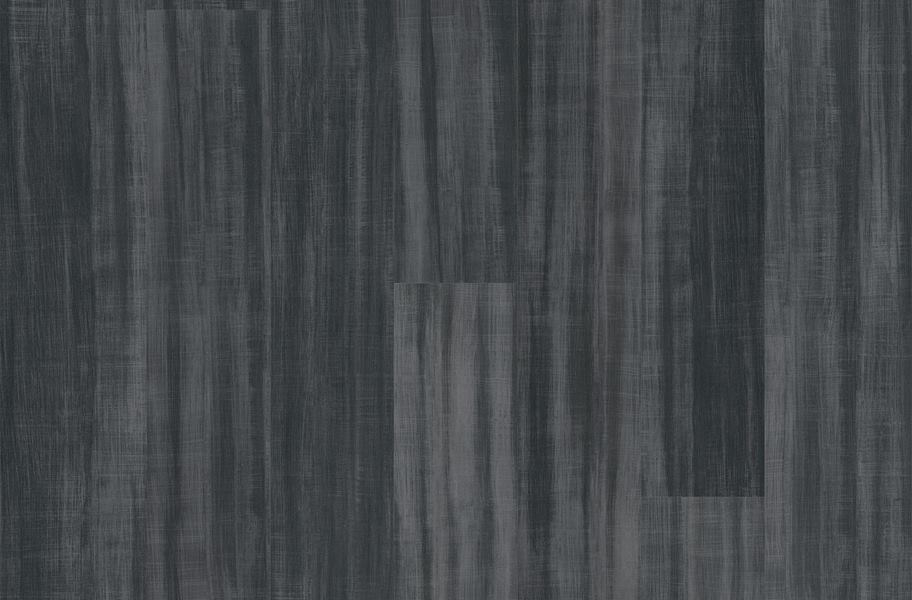 Shaw Color Washed Rigid Core Vinyl Planks - Boho Black