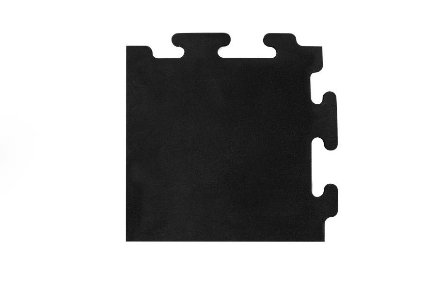 "1/2"" Mega-Lock Rubber Tiles - Corner"
