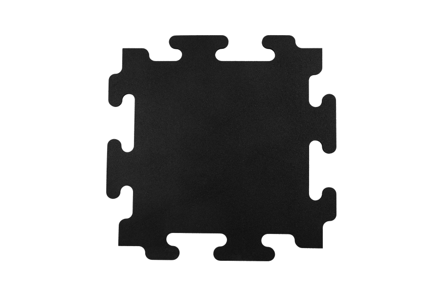"1/2"" Mega-Lock Rubber Tiles - Center"
