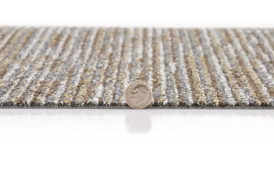 Mohawk Surface Stitch Carpet Tile - Fission
