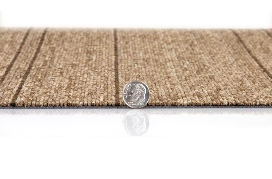 Mohawk Rule Breaker Carpet Tile - Cobalt Stripe