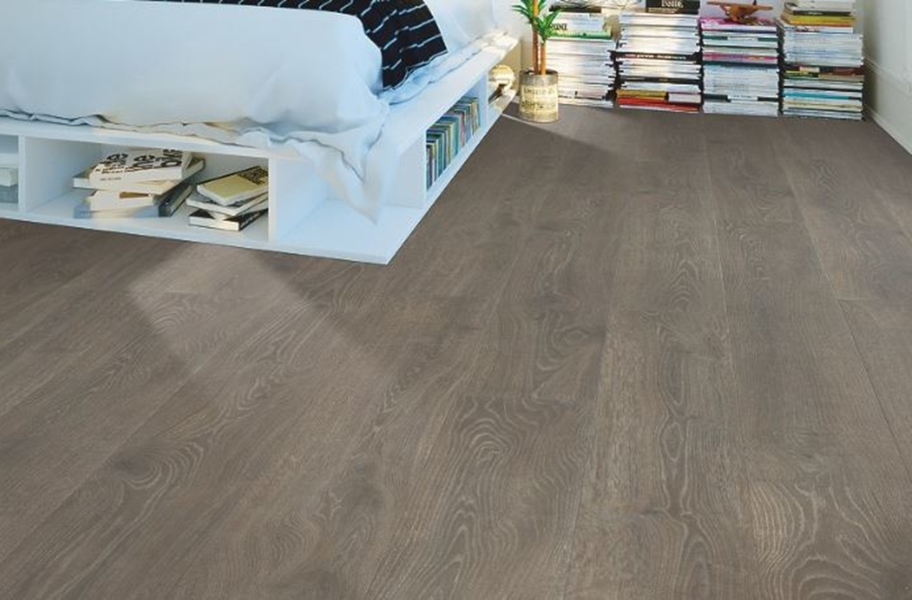 10mm Antique Craft Waterproof Laminate - Espresso