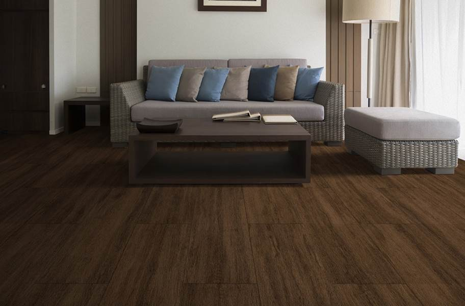 Wood Flex Tiles - Vintage Collection - Chestnut
