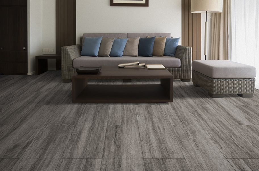 Wood Flex Tiles - Vintage Collection - Ash