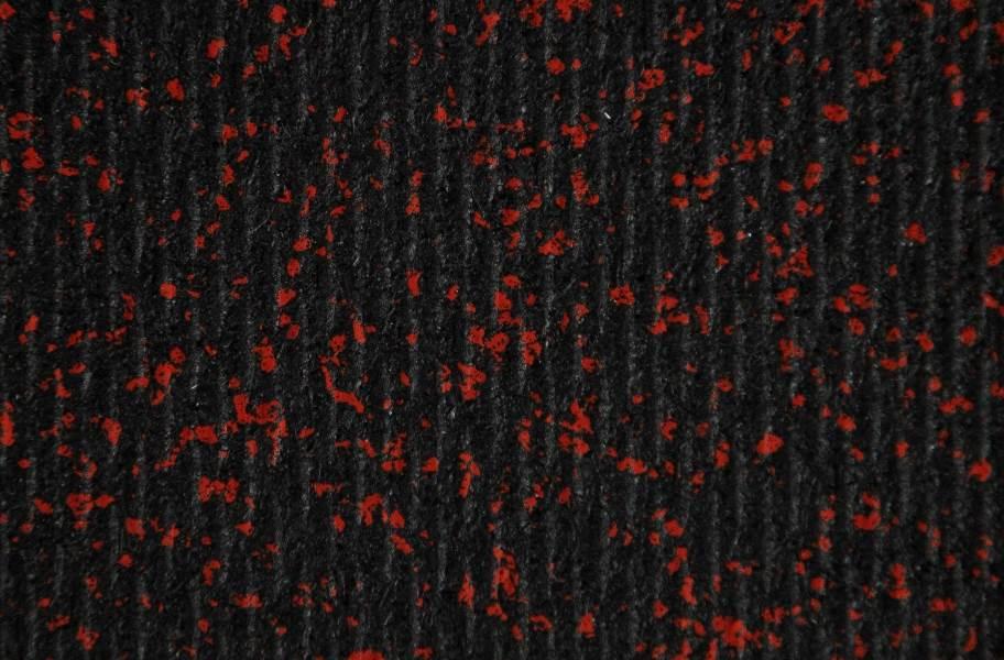 "3/8"" Rubber Gym Tiles - Black"