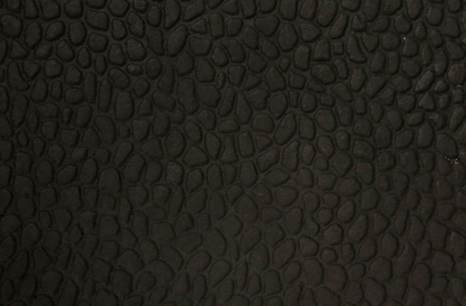 Virgin Pebble Tiles - Standard Black