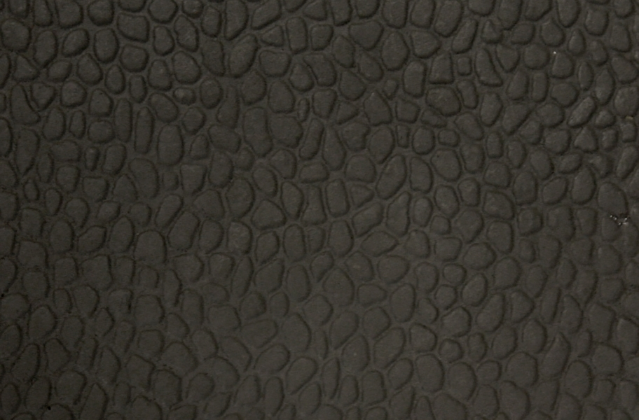 Virgin Pebble Tiles - Virgin Black