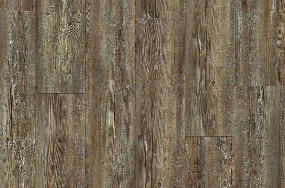 "Shaw Impact 7"" Rigid Core Vinyl Planks - Tattered Barnboard"