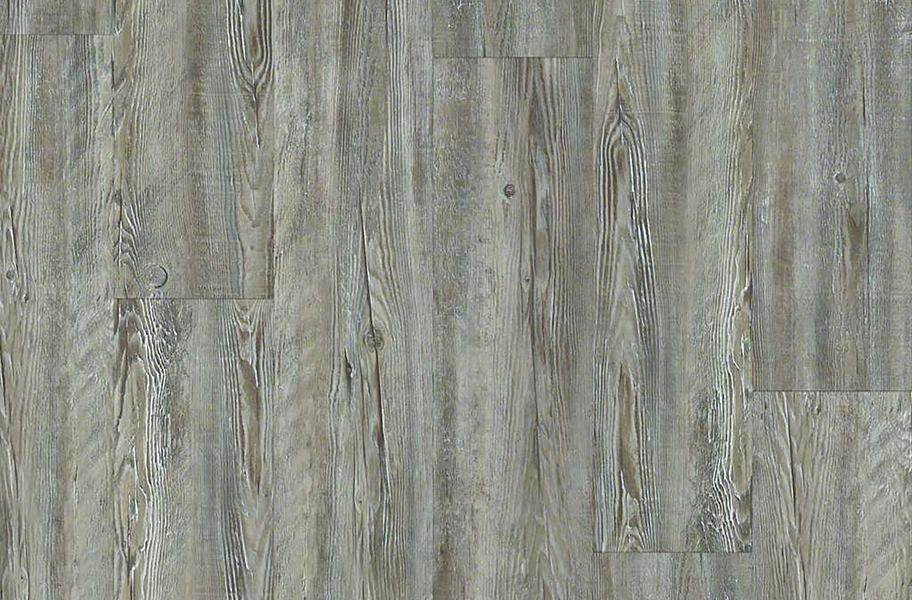 "Shaw Impact 7"" Rigid Core Vinyl Planks - Weathered Barnboard"